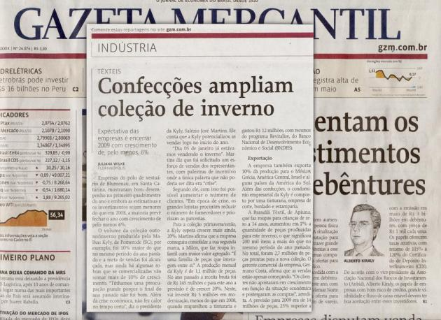 Kyly na Gazeta Mercantil