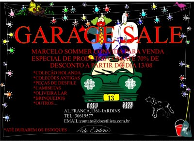 garage sale Marcelo Sommer