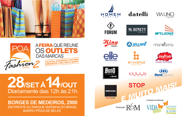 2º POA Fashion Offer tem início na sexta-feira  
