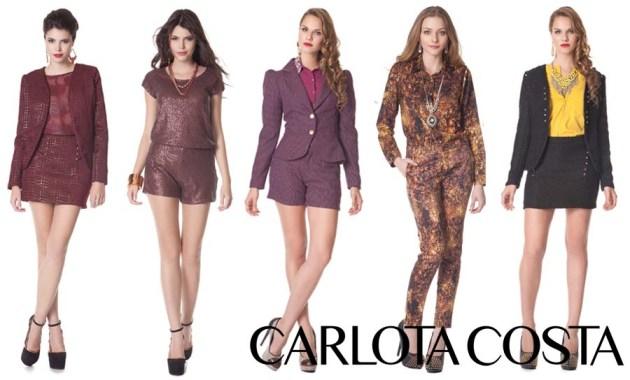 Coleção inverno 2013 Carlota Costa